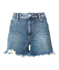 Paige | Fitted Denim Shorts 26