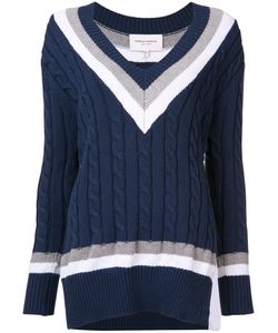 Public School | Cable Knit V-Neck Jumper