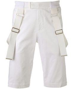 Les Hommes | Strap Detail Shorts Size 46