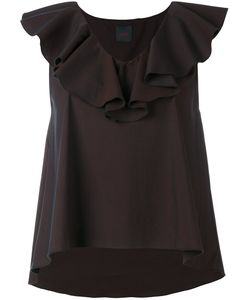 Eggs   Ruffle-Trimmed Top