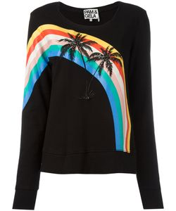 Pam & Gela   Palm Trees Sweatshirt