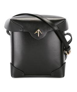 Manu Atelier   Fold-Over Closure Crossbody Bag Calf Leather