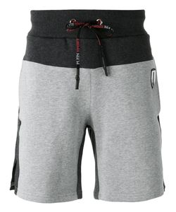 Plein Sport | Side Slits Sweatshorts Small