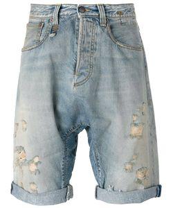 R13 | Ripped Denim Shorts Size 29