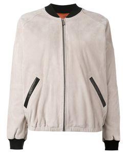 Barbara Bui | Leather Bomber Jacket 38