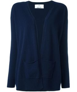 Allude | Open Front Cardigan Large Cashmere