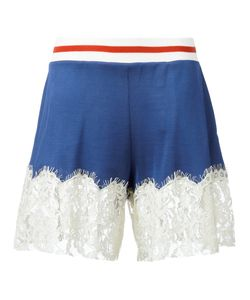 Mm6 Maison Margiela | Lace Trim Shorts Size Xs