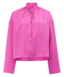 Balenciaga | Band Collar Blouse Size 36