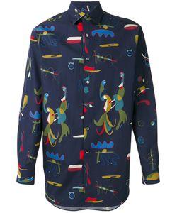 Salvatore Ferragamo | Comix Print Shirt