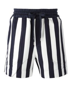 Andrea Pompilio | Striped Drawstring Shorts Size 48