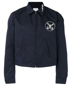 Htc Hollywood Trading Company   Logo Patch Jacket Size Xl