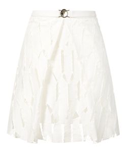 Versace Collection | Embroidered Skirt