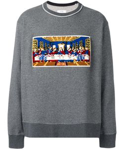 Facetasm | Last Supper Patch Sweatshirt Cotton/Acrylic