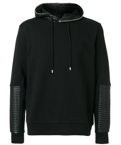 Les Hommes | Quilted Detail Hoodie