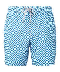 Capricode | Printed Pattern Swim Shorts Men