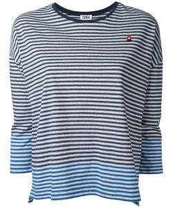 Sonia By Sonia Rykiel | Striped Jersey Top Size Medium