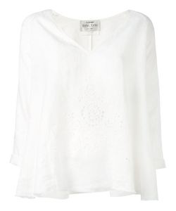Forte Forte | Perforated Trim Tunic