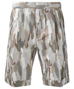 Cerruti | 1881 Camouflage Print Shorts