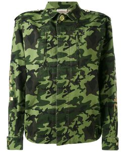 Each X Other | Back Print Camouflage Military Jacket