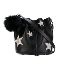 Les Petits Joueurs | Daliah Star Bucket Bag With Fox Fur