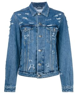 Forte Couture   Denim Distressed Jacket