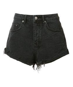 Ksubi   Frayed Denim Shorts 28 Cotton