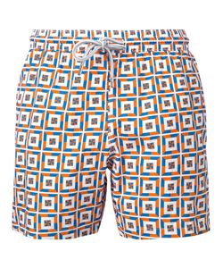Capricode | Printed Swim Shorts Men L