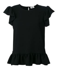 Sonia By Sonia Rykiel | Frill Detail T-Shirt Size 38