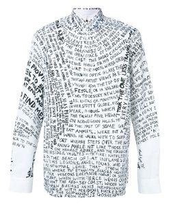 Oamc | Text Print Shirt M
