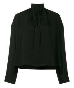 Balenciaga | Strangled High Neck Blouse Size 34