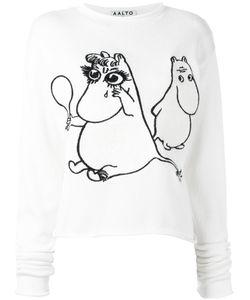 Aalto   Moomin Print T-Shirt Size