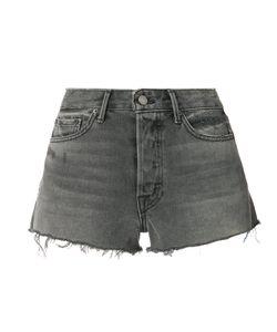 Grlfrnd   Raw Hem Denim Shorts