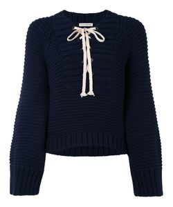 Ulla Johnson | Lace-Up Sweater Women