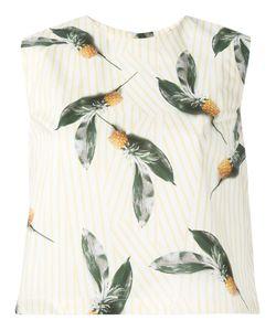 Cacharel | Pineapple Print Top 34 Cotton