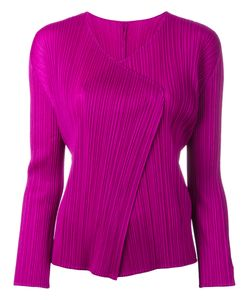Pleats Please By Issey Miyake | Pleated Open Jacket 3