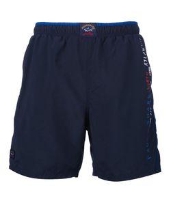 Paul & Shark   Logo Swim Shorts
