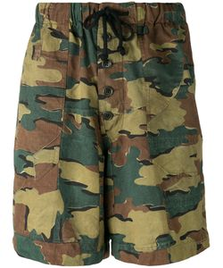 Dries Van Noten | Camouflage Shorts Size Xl