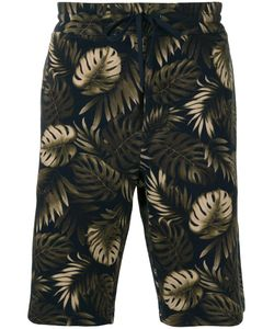Vince | Leaves Print Sweatshorts Xl