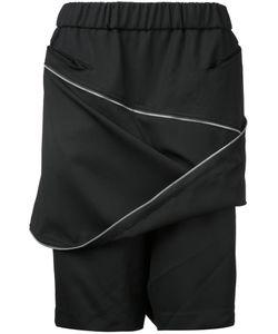 Moohong | Zip Front Track Shorts Size 50