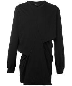 Moohong   Longsleeved Pleated T-Shirt 46 Cotton
