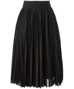 Givenchy | Pleated Midi Skirt 36 Silk/Polyester/Acetate