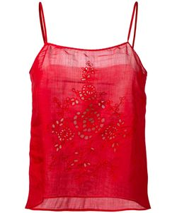 Forte Forte | Open Embroidery Camisole Top