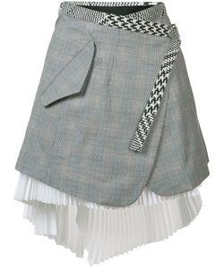 Sacai | Asymmetric Wrap Skirt Size 1