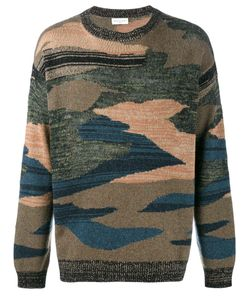 Dries Van Noten | Camouflage Knitted Jumper Size Small