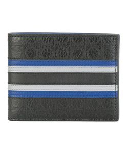 Salvatore Ferragamo | Stripe Panel Wallet