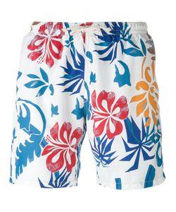 Drumohr | Tropical Print Swim Shorts Men
