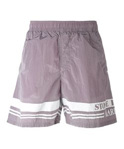 Stone Island | Logo Print Swim Shorts Men