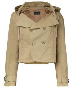 G.V.G.V. | G.V.G.V. Hooded Cropped Trench Jacket