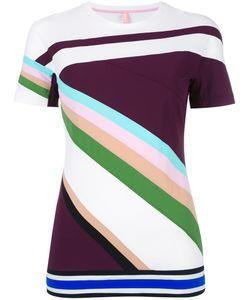 No Ka' Oi | Geometric Pattern T-Shirt Xs Polyamide/Spandex/Elastane