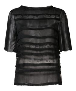 Jason Wu | Sheer Panelled Top 6 Silk